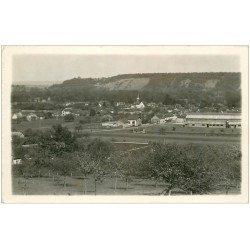 carte postale ancienne 27 MARCILLY-SUR-EURE. Vallée de l'Eure. Carte Photo émaillographie