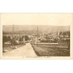 carte postale ancienne 27 MARCILLY-SUR-EURE. Vue générale