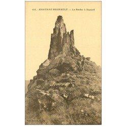 carte postale ancienne 08 CHATEAU-REGNAULT. La Roche à Bayard