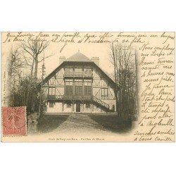 carte postale ancienne 27 PACY-SUR-EURE. Pavillon de Chasse 1904