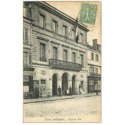 carte postale ancienne 27 PONT-AUDEMER. Hôtel de Ville 1921