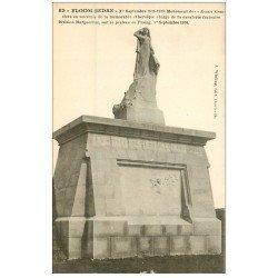 carte postale ancienne 08 FLOING SEDAN. Monument des Braves Gens et Cavalerie Française