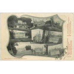 carte postale ancienne 27 PONT-AUDEMER. Multivues 1907