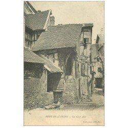 carte postale ancienne 27 PONT-DE-L'ARCHE. La Cour Aîné