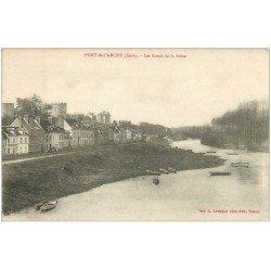 carte postale ancienne 27 PONT-DE-L'ARCHE. Les Bords de Seine