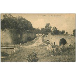 carte postale ancienne 08 GIVET. Fort Charlemont