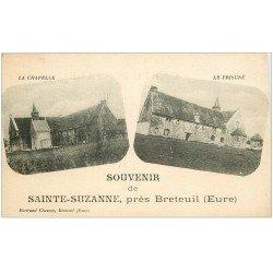 carte postale ancienne 27 SAINTE-SUZANNE. Chapelle Prieuré