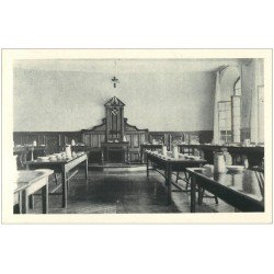 carte postale ancienne 27 VERNEUIL-SUR-AVRE. Abbaye Bénédictins Réfectoire