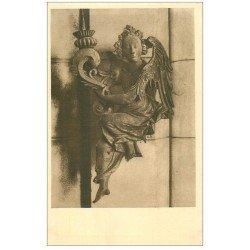 carte postale ancienne 27 VERNEUIL-SUR-AVRE. Eglise Notre-Dame. Ange Céroféraire