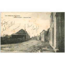 carte postale ancienne 08 JUNIVILLE. Grande Rue 1920