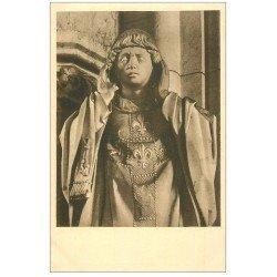 carte postale ancienne 27 VERNEUIL-SUR-AVRE. Eglise Notre-Dame. Saint-Denis