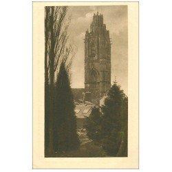 carte postale ancienne 27 VERNEUIL-SUR-AVRE. Eglise Notre-Dame. Tour Madeleine