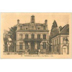carte postale ancienne 27 VERNEUIL-SUR-AVRE. La Mairie