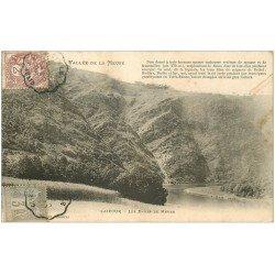 carte postale ancienne 08 LAIFOUR. Les Dames de Meuse 1905. Timbre de 3 et 2 cts