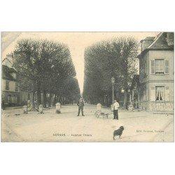 carte postale ancienne 27 VERNON. Avenue Thiers
