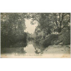 carte postale ancienne 27 VERNON. Le Bras Saint-Jean 1906
