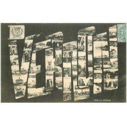 carte postale ancienne 27 VERNON. Multivues 1905