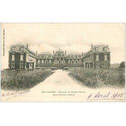 carte postale ancienne 08 LES ALLEUX. Château de Maison Rouge 1905
