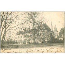 carte postale ancienne 41 AMBLOY. Le Château 1904
