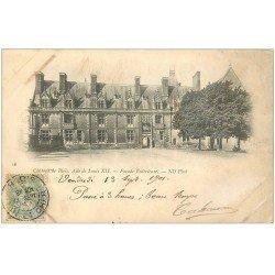 carte postale ancienne 41 BLOIS. Aile Louis XII façade 1901