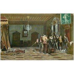carte postale ancienne 41 BLOIS. Assassinat Duc de Guise 1909
