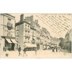 carte postale ancienne 41 BLOIS. Buvette du Square rue Porte-Côté 1903