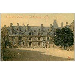 carte postale ancienne 41 BLOIS. Château aile Louis XII
