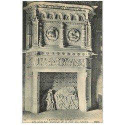carte postale ancienne 41 BLOIS. Château. Cheminée Salle Honneur