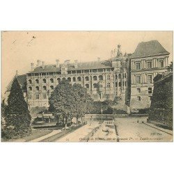 carte postale ancienne 41 BLOIS. Château. Façade 1906