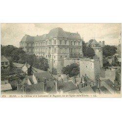 carte postale ancienne 41 BLOIS. Château. Laboratoire de Ruggieri