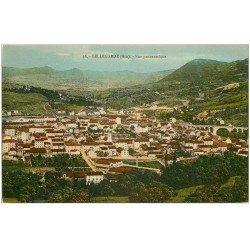 carte postale ancienne 01 Bellegarde. Vue panoramique