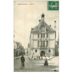 carte postale ancienne 41 MONTRICHARD. La Mairie 1910