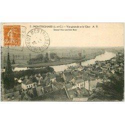 carte postale ancienne 41 MONTRICHARD. Vue 1928