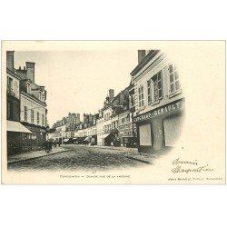 carte postale ancienne 41 ROMORANTIN. Grande Rue de la Varenne. Comptoir Populaire 1903