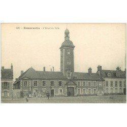 carte postale ancienne 41 ROMORANTIN. Hôtel de Ville 1917