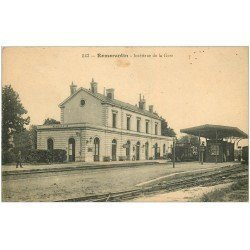 carte postale ancienne 41 ROMORANTIN. La Gare avec Train