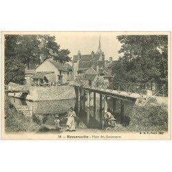 carte postale ancienne 41 ROMORANTIN. Lavandière Place des Garçonnets