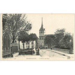 carte postale ancienne 41 ROMORANTIN. L'Entrée du Pont