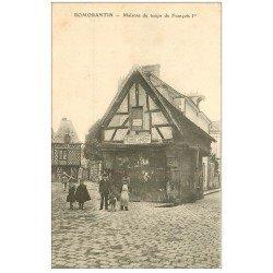 carte postale ancienne 41 ROMORANTIN. Maison Ménard Sarton Commissionnaire Public