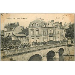 carte postale ancienne 41 ROMORANTIN. Retour de Marche Militaires 1903