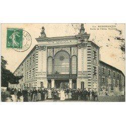 carte postale ancienne 41 ROMORANTIN. Sortie Usine Normant 1909