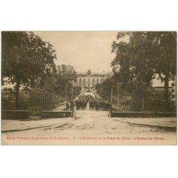 carte postale ancienne 41 SAINT-AIGNAN. Ecole Avenue de l'Ecole 1924