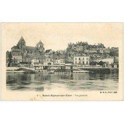 carte postale ancienne 41 SAINT-AIGNAN. Vue sur les Lavoirs 1906