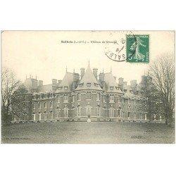 carte postale ancienne 41 SALBRIS. Château de Rivaulde 1909