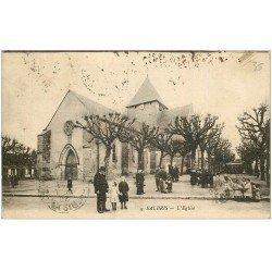 carte postale ancienne 41 SALBRIS. L'Eglise 1920