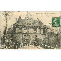 carte postale ancienne 41 VENDOME. Hôtel de Ville 1913