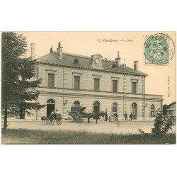 carte postale ancienne 41 VENDOME. La Gare 1905