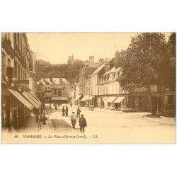 carte postale ancienne 41 VENDOME. Place d'Armes 1928