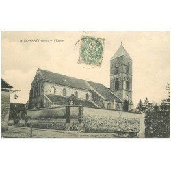carte postale ancienne 51 AMBONNAY. L'Eglise 1907