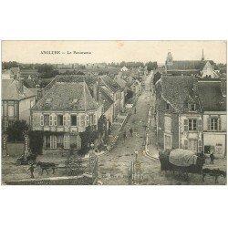 carte postale ancienne 51 ANGLURE. Panorama